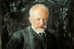 Portrait of Tchaikovsky by Nikolai Kusznezow