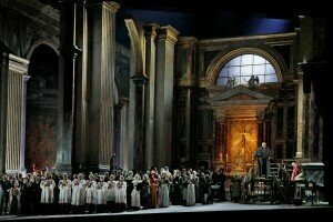 Act 1, Tosca at The Met© Ken Howard | Metropolitan Opera