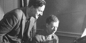 Benjamin Britten and Peter Pears