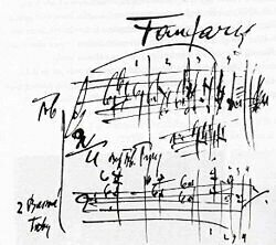 Fanfares of Janáček's Sinfonietta