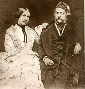 Mikhail Glinka and Maria Petrovna