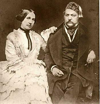 Mikhail Glinka and Maria Petrovna <br></noscript><img class=
