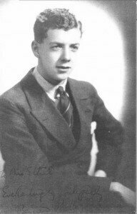 The Youthful Benjamin Britten, composer of the Simple Symphony