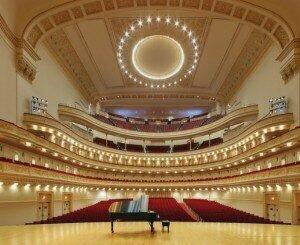 Carnegie Hall's Stern Auditorium. ( Jeff Goldberg / ESTO )