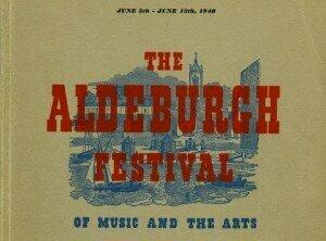 Britten's first Aldeburgh programme