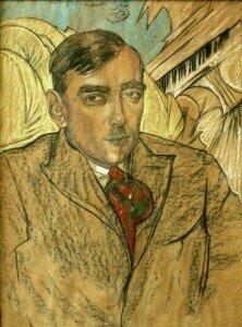 Portrait of Karol Szymanowski by Stanislaw Ignacy Witkacy