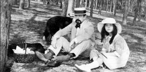 Debussy and Chouchou