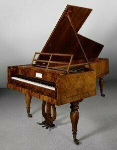 Conrad Graf fortepiano 1820s (Metropolitan Museum)