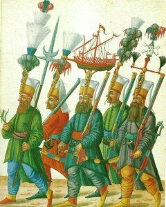 Janissaries, military bands that helped to inspire Die Entführung aus dem Serail