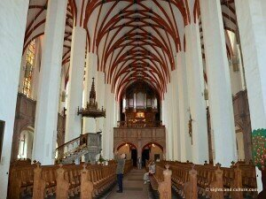 Interior of Thomaskirche