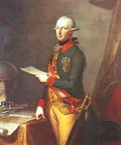 Emperor Joseph II, whose pet project Nationalsingspiel commissioned Die Entführung aus dem Serail