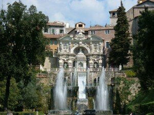 The Fountains at the Villa d'Este