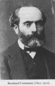 Bernhard Cossmann