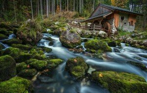 Mill on a Brook, Austria