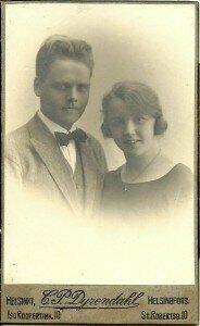 Oskar Merikanto and Liisa Häyrynen