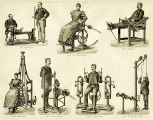 Physiotherapy Equipment, ca 1890