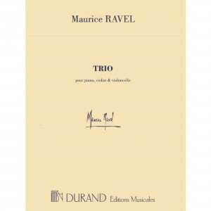 August Durand ravel,+maurice+-+piano+trio++1914++for+violin+cello+and+piano+published+by+editions+durand_