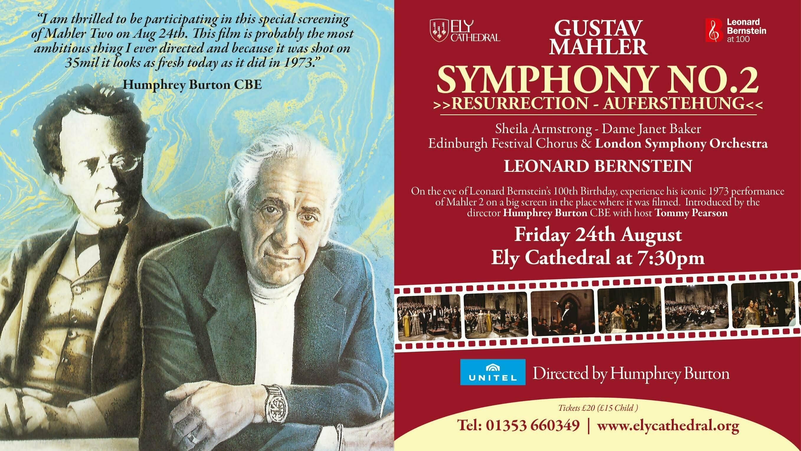 Bernstein at Ely – An Interview with Humphrey Burton