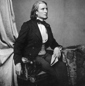 Franz Liszt, transcriber of Widmung © img.wikicharlie.cl