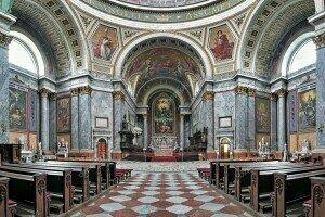Interior of   Basilica Esztergom