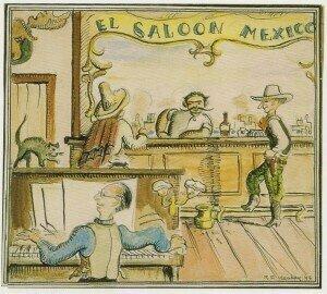 Ruth Keahey, El Salón México