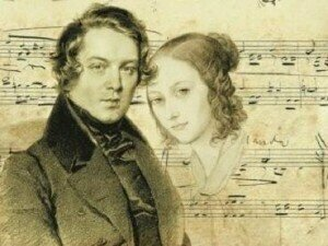 Robert Schumann, composed of Widmung, and Clara Wieck © pages.stolaf.edu
