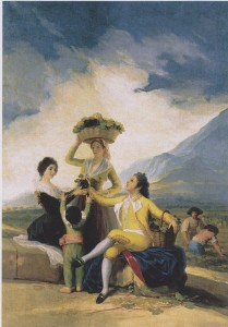 Autumn: The grape harvest by Francisco Goya © Wikipedia