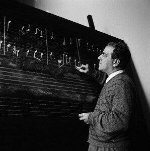 Heitor Villa-Lobos, composer of Bachiana Brasileira No. 1