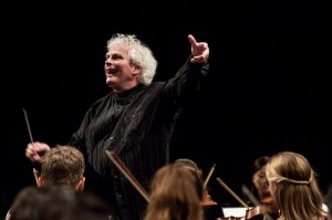 Simon Rattle © Aline Paley