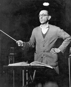 Stravinsky, composer of L'Histoire Du Soldat in 1920