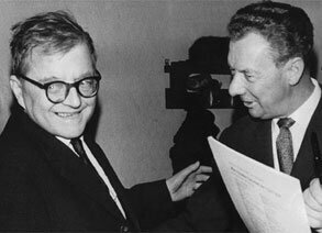 Shostakovich with Britten