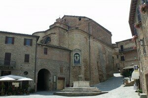Panicale (the main square) © Wikipedia