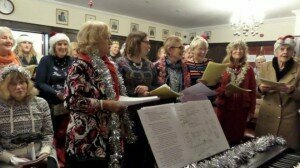 Everyone is welcome to the singing workshops and no-one asks about mental health issues © SYHO
