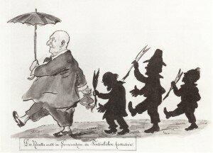 Bruckner Caricature