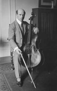 The young Pablo Casals (1917)