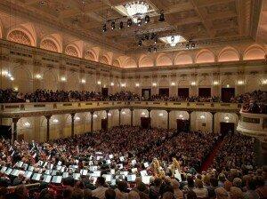 Amsterdam's famed Concertgebouw concert hall