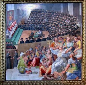 Pasquale Cati: The Council of Trent (1588)