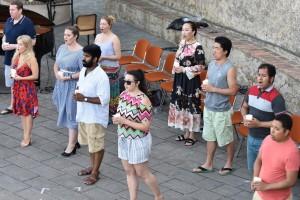 participants in the Georg Solti Accademia © Barbara Cole Walton