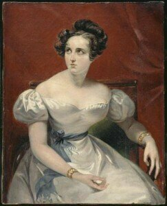 Harriet Smithson by Claude-Marie Dubufe (1830)