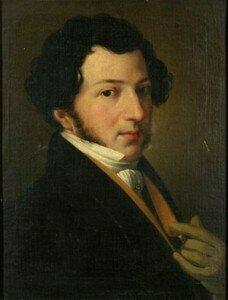 Giaochino Rossini , circa 1815