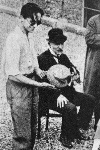 Erik Satie, year 1924