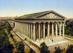 The Madeleine, Paris, ca. 1890-1900