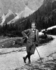 Gustav Mahler, composer of Lied von der Erde