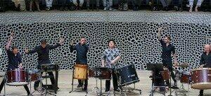 Li Biao and the Li Biao Percussion Group © Hong Kong Arts Festival