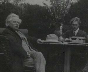 Grainger with Grieg in the summer of 1907