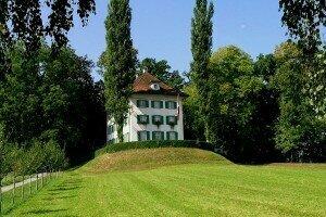 Tribschen near Lake Lucerne, where the Siegfried Idyll was premiered