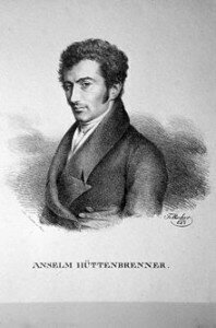 Anselm Hüttenbrenner, recipient of the score to the Unfinished Symphony