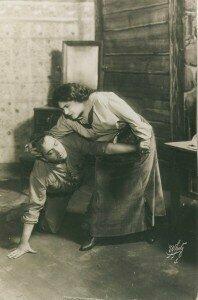 Enrico Caruso and Emmy Destinn, original stars of La Fanciulla del West