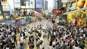 Rush Hour in Hong Kong