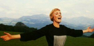 "Julie Andrews as Maria von Trapp in ""The Sound of Music."" (ABC News / Youtube)"